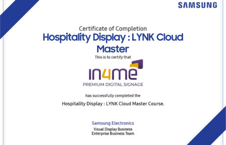 Digital Signage in4me
